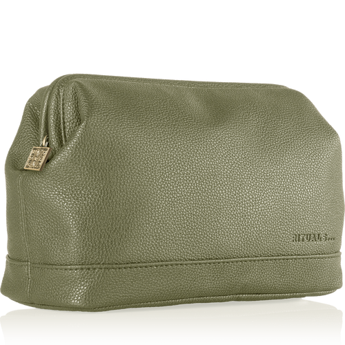Luxury Travel Bag For Her - Olive Green