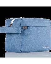 Travel Bag For Him - Denim Blue
