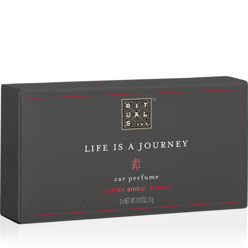 LIFE IS A JOURNEY - THE RITUAL OF SAMURAI CAR PERFUME