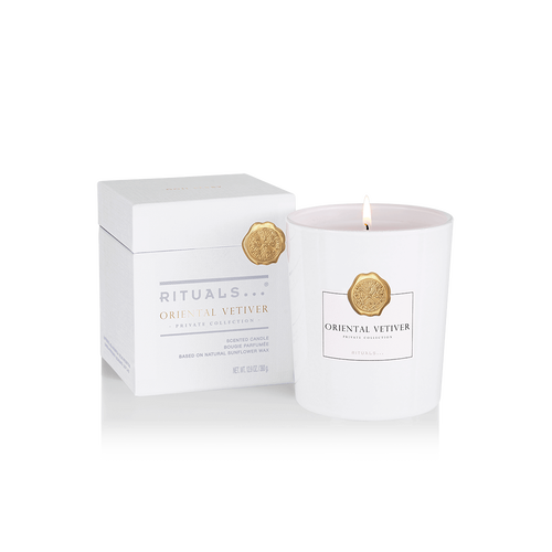 Private Collection Oriental Vetiver Scented Candle